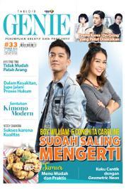 Cover Majalah Tabloid genie ED 33 Mei 2017