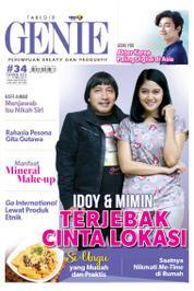 Cover Majalah Tabloid genie ED 34 Mei 2017