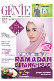 Cover Majalah Tabloid genie ED 35 Mei 2017