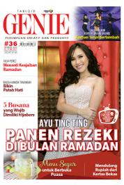 Cover Majalah Tabloid genie ED 36 Mei 2017