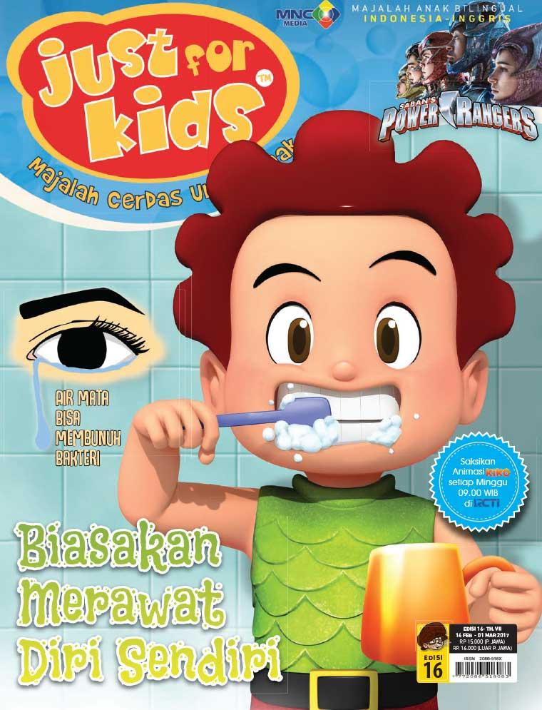 Majalah Digital just for kids ED 16 Februari 2017