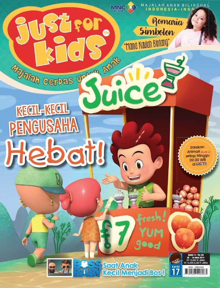 Majalah Digital just for kids ED 17 Maret 2017