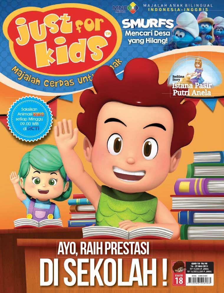 Majalah Digital just for kids ED 18 Maret 2017