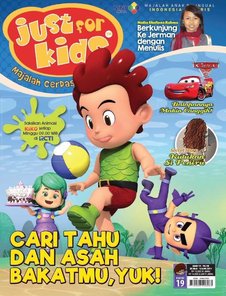 Majalah Digital just for kids ED 19 April 2017