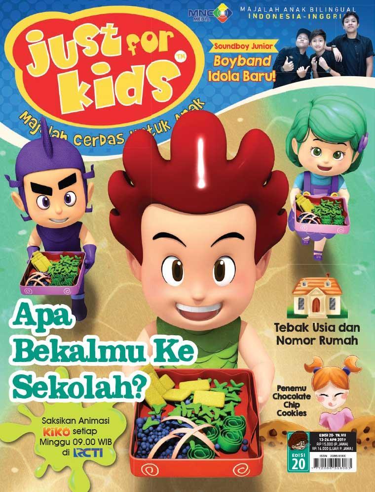 Majalah Digital just for kids ED 20 April 2017