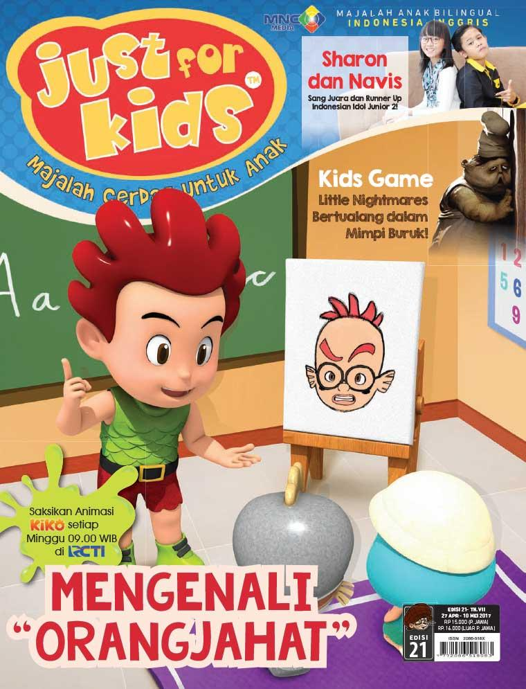 Majalah Digital just for kids ED 21 April 2017