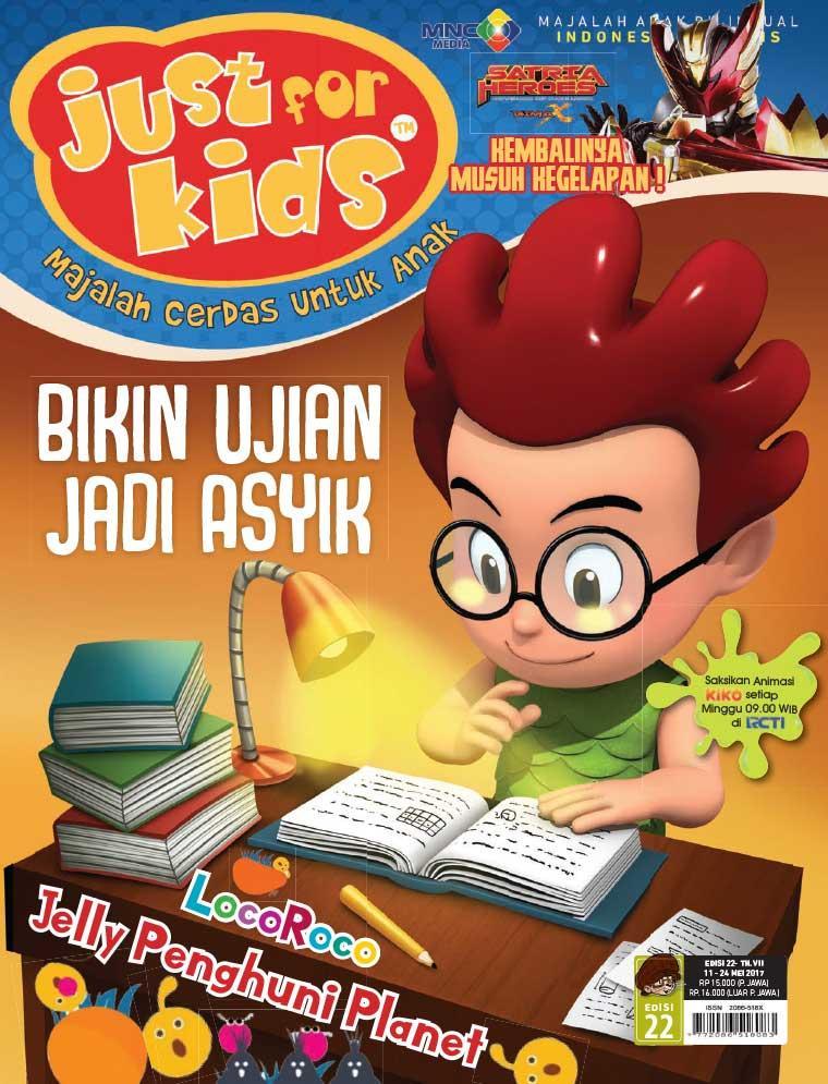 Majalah Digital just for kids ED 22 Mei 2017