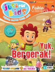 Cover Majalah just for kids ED 05 September 2016