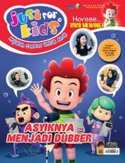 Cover Majalah just for kids ED 08 Oktober 2016