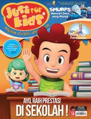 Cover Majalah just for kids ED 18 Maret 2017