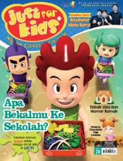 Cover Majalah just for kids ED 20 April 2017