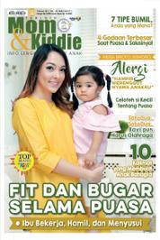 Cover Majalah Tabloid Mom & Kiddie ED 20 Mei 2017