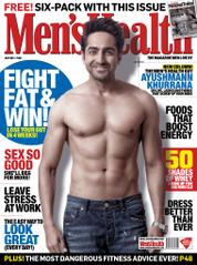 Men's Health India Magazine Cover July 2013