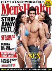 Men's Health India Magazine Cover September 2013