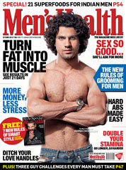 Men's Health India Magazine Cover October 2013