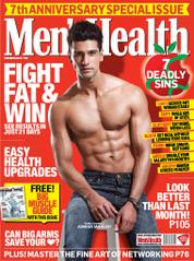 Men's Health India Magazine Cover November 2013