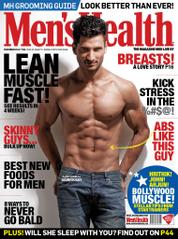 Men's Health India Magazine Cover December 2013