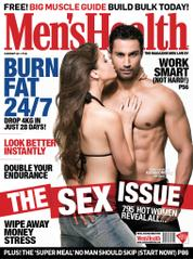 Men's Health India Magazine Cover February 2014