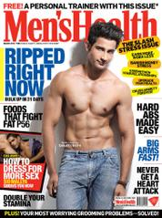 Men's Health India Magazine Cover March 2014