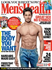 Men's Health India Magazine Cover April 2014