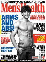 Men's Health India Magazine Cover July 2014