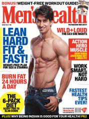 Men's Health India Magazine Cover August 2014