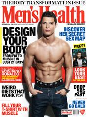 Men's Health India Magazine Cover September 2014
