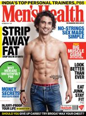 Men's Health India Magazine Cover October 2014