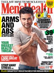 Men's Health India Magazine Cover December 2014