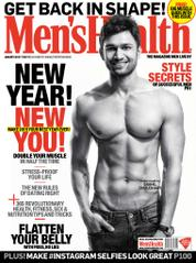 Men's Health India Magazine Cover January 2015