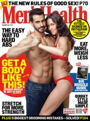 Men's Health India Magazine Cover February 2015