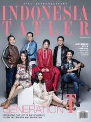 Cover Majalah INDONESIA TATLER September 2017