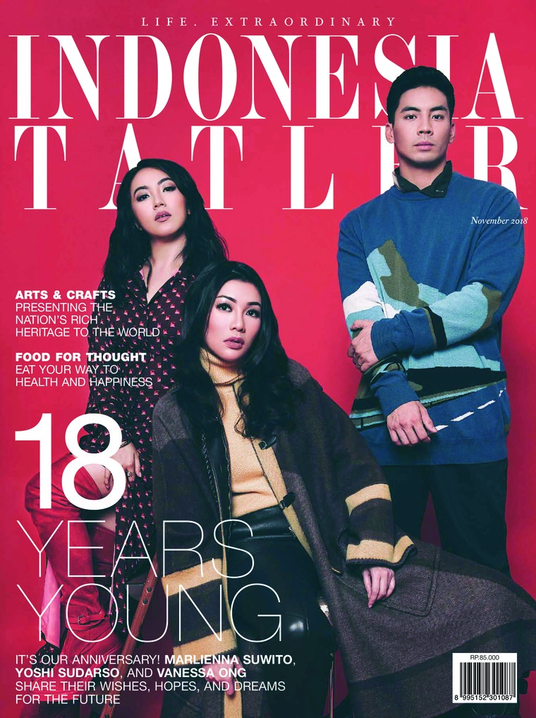 Majalah Digital INDONESIA TATLER November 2018