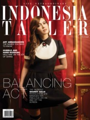 Cover Majalah INDONESIA TATLER Maret 2018