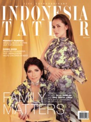 Cover Majalah INDONESIA TATLER April 2018