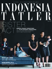 Cover Majalah INDONESIA TATLER Mei 2018
