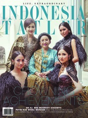 Cover Majalah INDONESIA TATLER Juli 2018