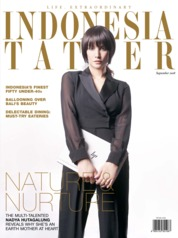 INDONESIA TATLER Magazine Cover September 2018