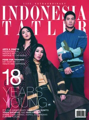 INDONESIA TATLER Magazine Cover November 2018