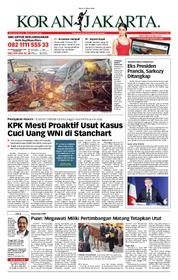 Cover Koran Jakarta 21 Maret 2018