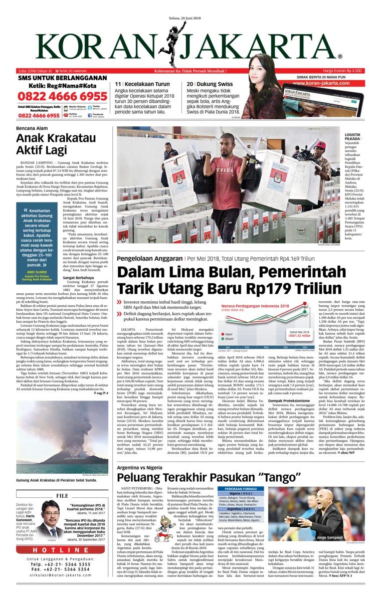Koran Jakarta Digital Newspaper