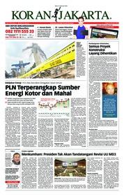 Cover Koran Jakarta 21 Februari 2018