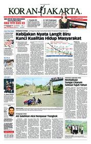 Cover Koran Jakarta 23 Februari 2018