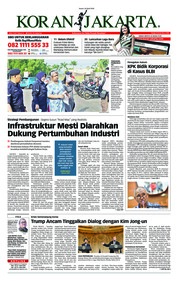 Cover Koran Jakarta 20 April 2018