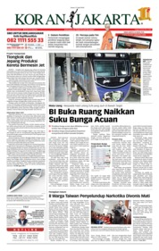 Cover Koran Jakarta 27 April 2018