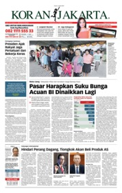 Cover Koran Jakarta