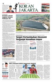 Cover Koran Jakarta 26 Mei 2018