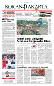 Cover Koran Jakarta 19 Juni 2018