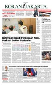 Cover Koran Jakarta 17 Juli 2018