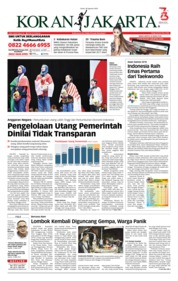 Cover Koran Jakarta 20 Agustus 2018